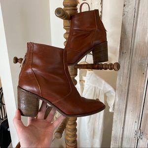 Madewell Heeled Ankle Booties 8.5